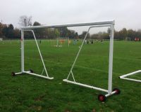 GOAL POST TRANSPORTER WHEELS - LARGE - for lightweight 80mm Goals